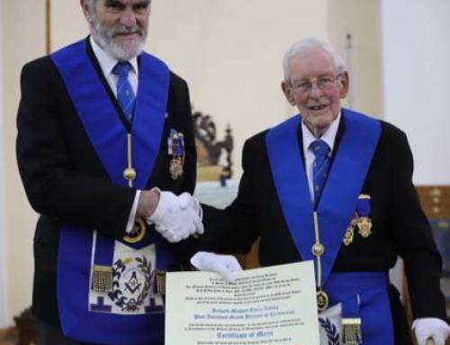 W. Bro. Michaels fantastic Masonic achievements